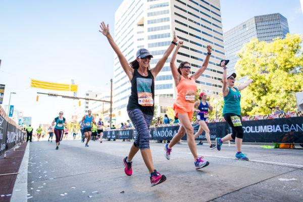 ScrimLite Barricade Covers at Baltimore Running Fest 2017
