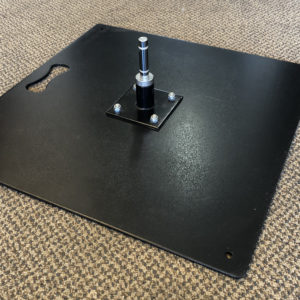 Metal Flag Base Plate